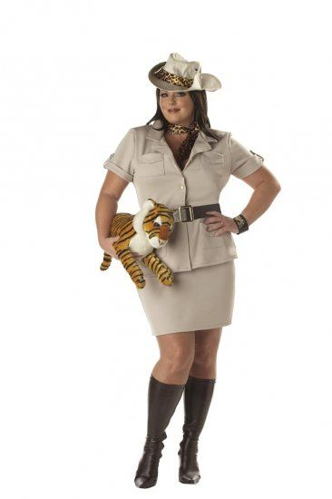 02327cfee6d Zookeeper Safari Lady Adult Costume - Plus Size