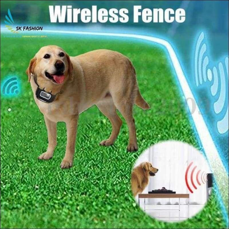 Wireless Dog Fence With Collar Wireless Dog Fence Dog Fence Pet Fence