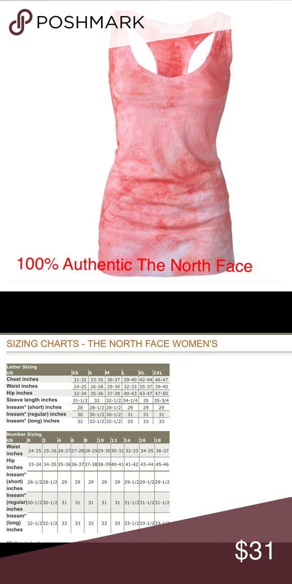 Bnwt The North Face Sugary Pink Be Calm Tank L Jersey Knits Smoke