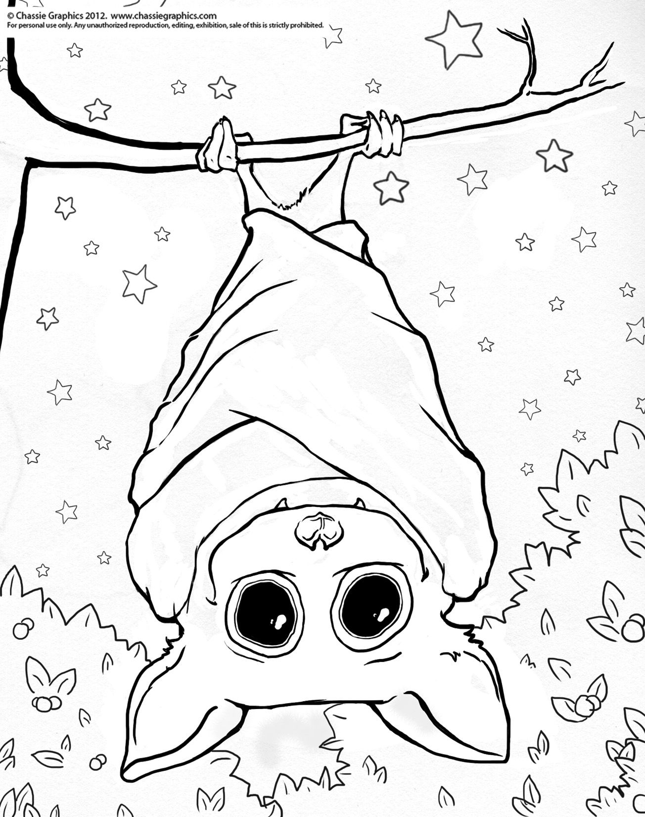 Bat Coloring Pages Picture Id
