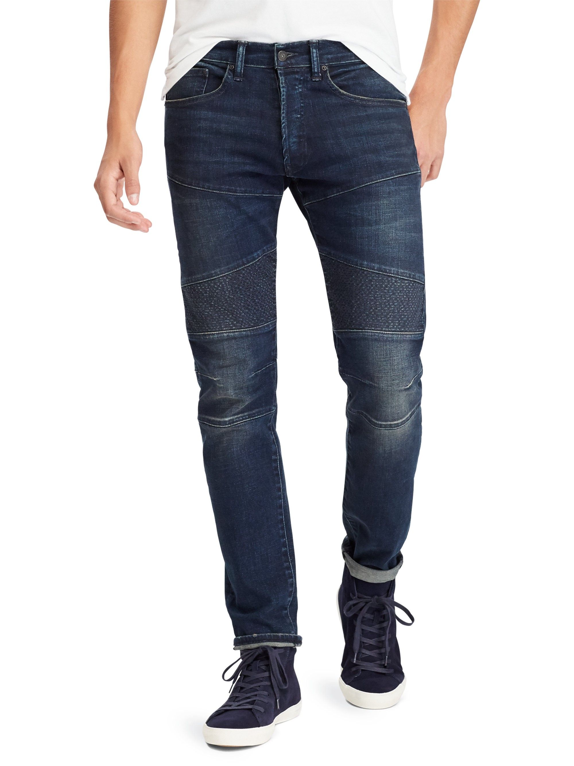b19199fb70 Slim-Fit Stretch Moto Jeans by Ralph Lauren in 2019 | Products ...