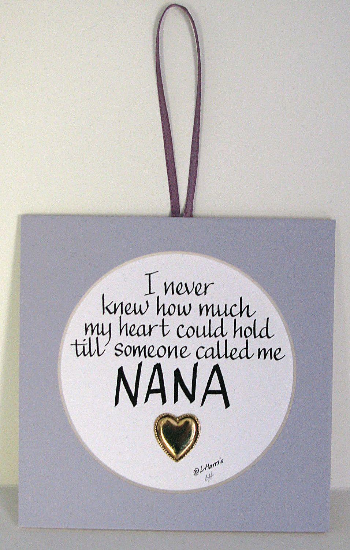 Someone Called Me Nana