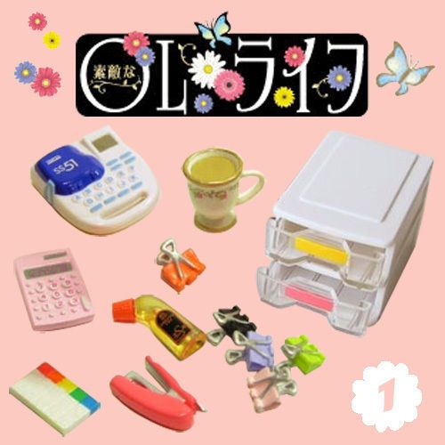 Calculate Machine Tiny Re-ment Toy Mini Dollhouse Miniatures Doll Barbie Supply