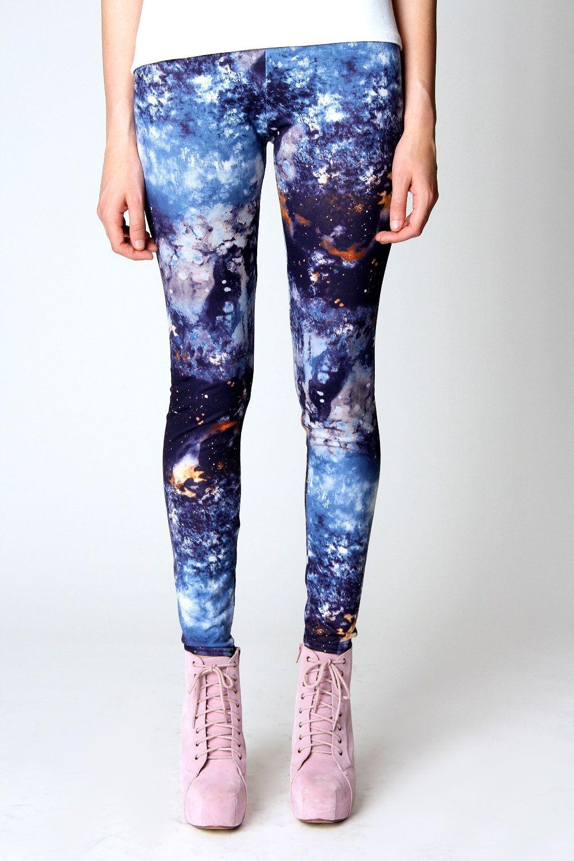 8b5debcf34 DIY Galaxy Print Leggings   DIY Clothing Inspiration   Leggings ...