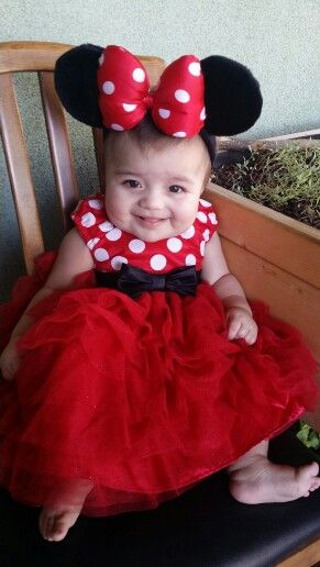 Minnie Mouse for Halloween ♡