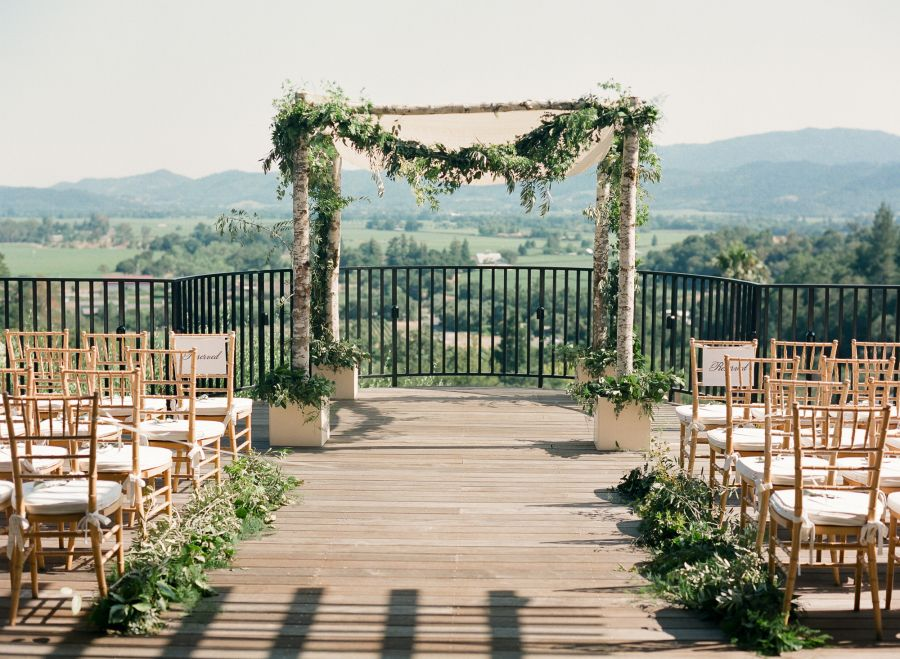 Romantic + Traditional Napa Valley Destination Wedding