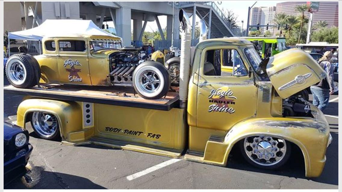 Sema Las Vegas 2015 Vintage Trucks Ford Trucks Mini Trucks