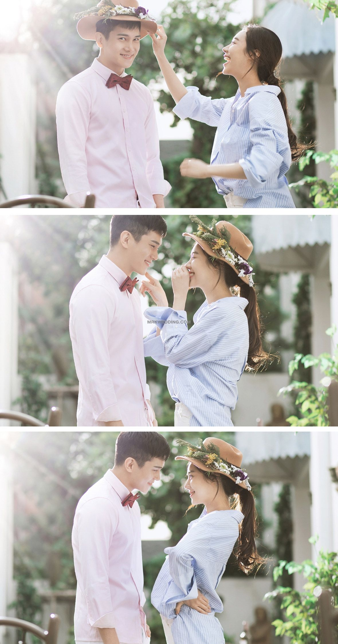 "2017 New sample ""Love Blossom"" WEDDING PACKAGE Tư thế"