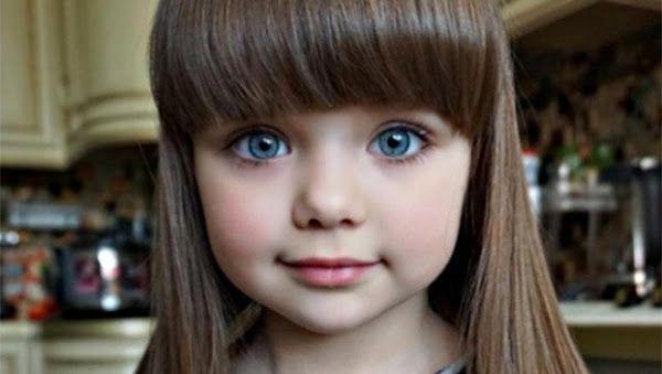 Proclamada Como A Menina Mais Bonita Do Mundo Veja Como Ela