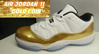 the best attitude 241a8 171b8 Air Jordan 11 Gold Coin Low Closing Ceremony Sneaker ...