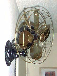 country star wall decor ebay.htm wall mounted fan circa 1900 1910 emerson electric company  with  wall mounted fan circa 1900 1910