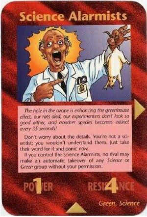 Illuminati card game - Pseudo Science