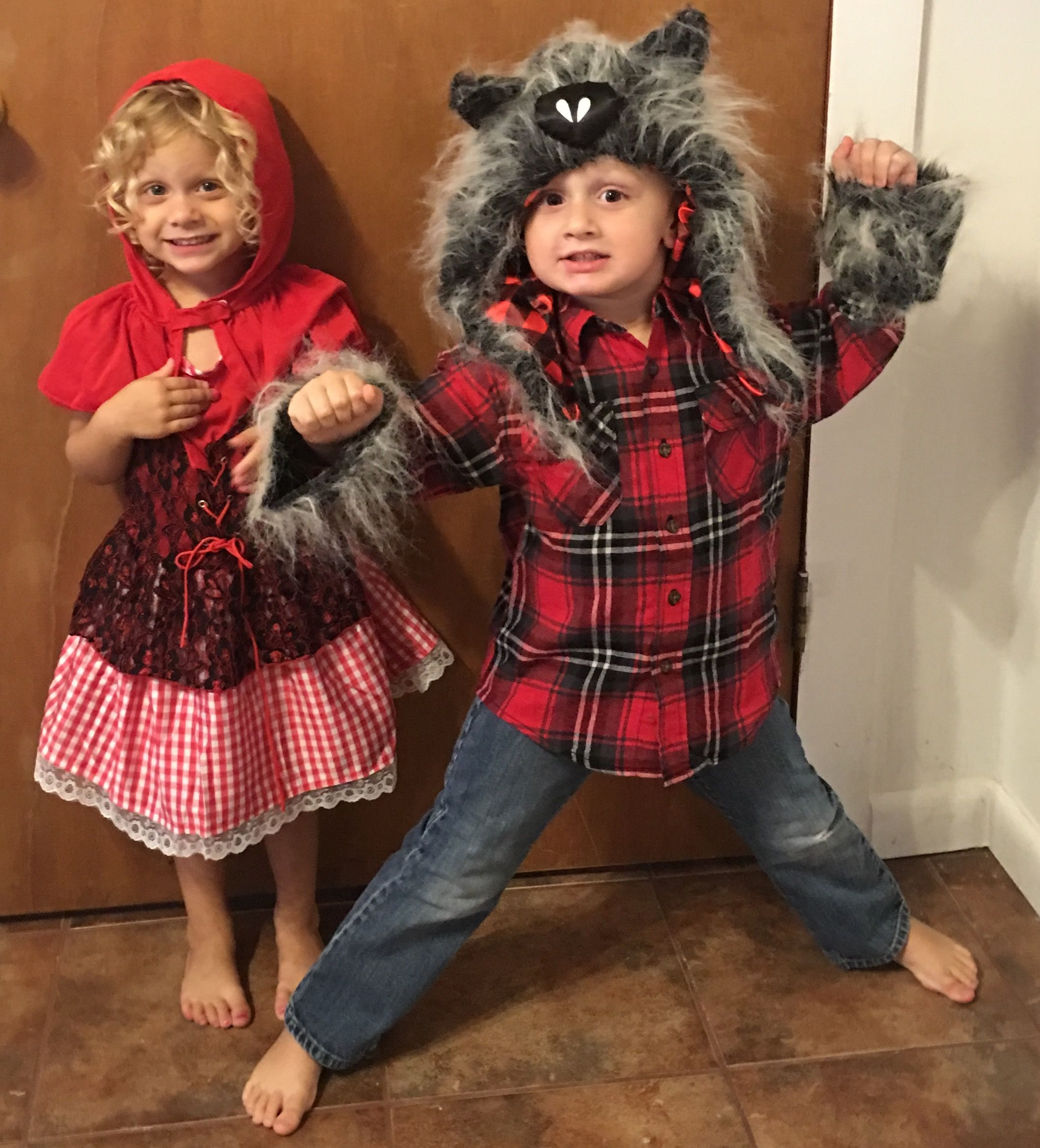 Little Red Riding Hood And The Big Bad Wolf Y Girl