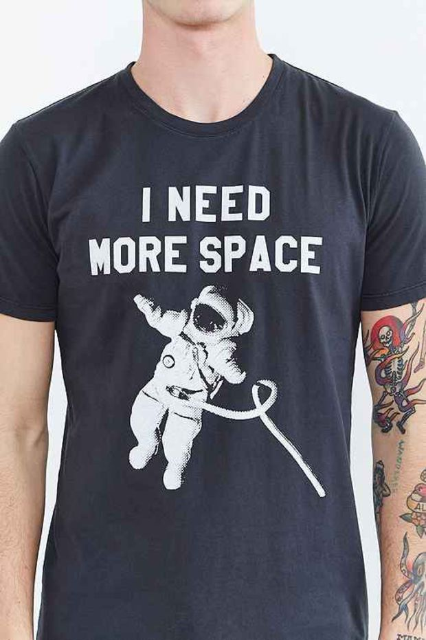 575cd867c20d I Need More Space Tee- Black Galaxy Space