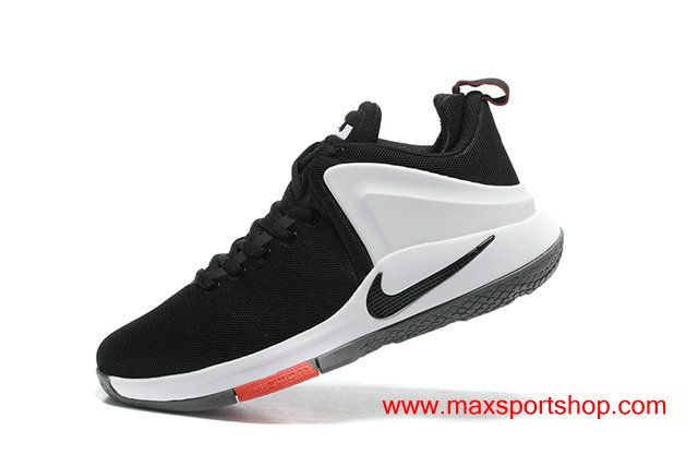 2017 Nike Lebron Witness Black White Red Cool Mens Basketball Shoes 6700