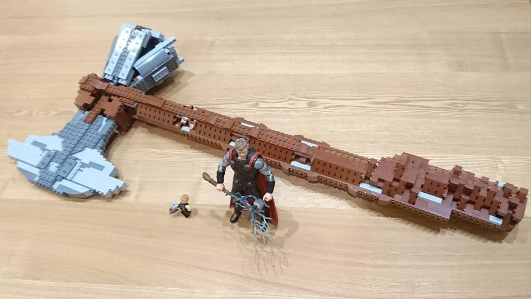 アスガルド最強の武器 #ソー の #ストームブレイカー を#レゴ で作りました #Stormbreaker # ...