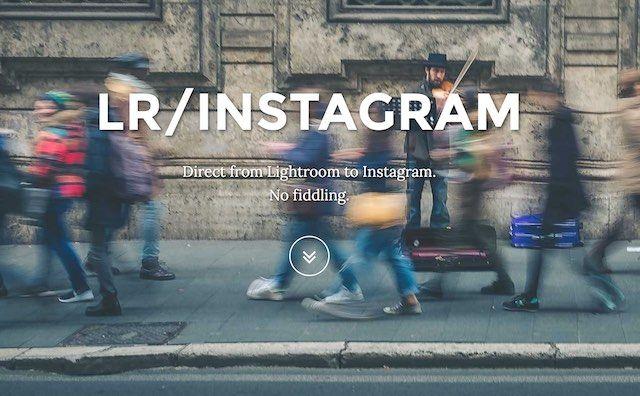 Lightroom instagram plugin