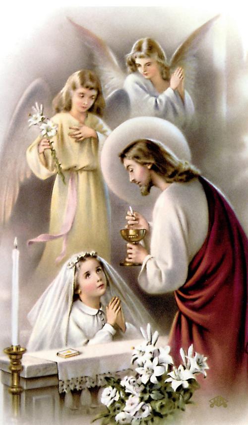 Pin By Barbara Tomarchio On Our Lord Savior Jesus Christ Amen Communion Prayer First Communion Communion