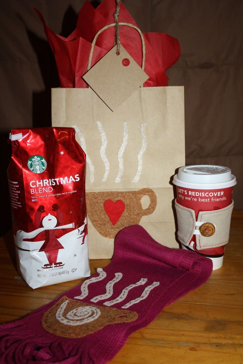 coffee themed gift | Cheerful Christmas | Pinterest | Gift ...