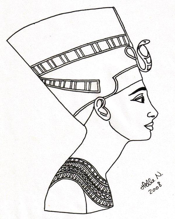 Nefertiti Beautyful Queen By Hellenielsen82 On Deviantart