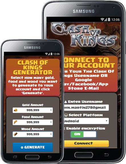 скачать clash of kings hack tool