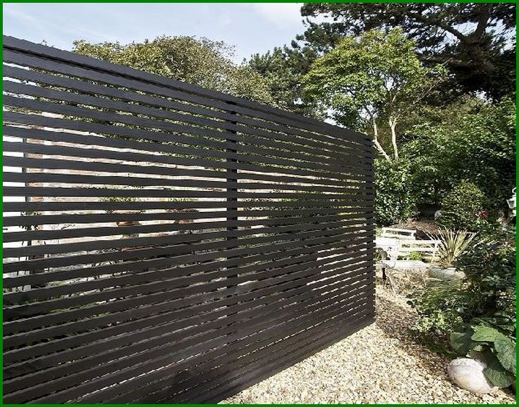 Horizontal Wood Fence Diy Photo Gallery Of The Modern