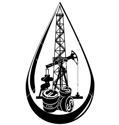 The Oil Business Vector Image On Vectorstock Diy Leather Oil Oil And Gas Oil Rig