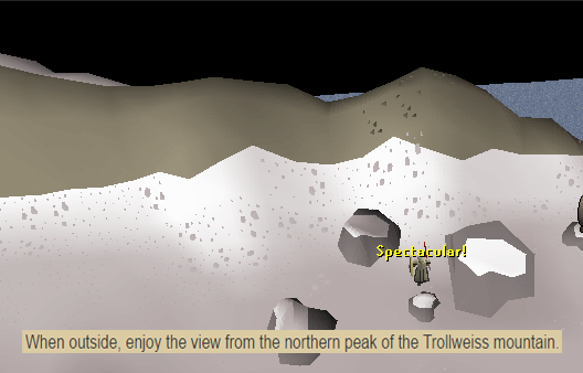 The Breathtaking View of Trollweiss Mountain Thanks Wiki!