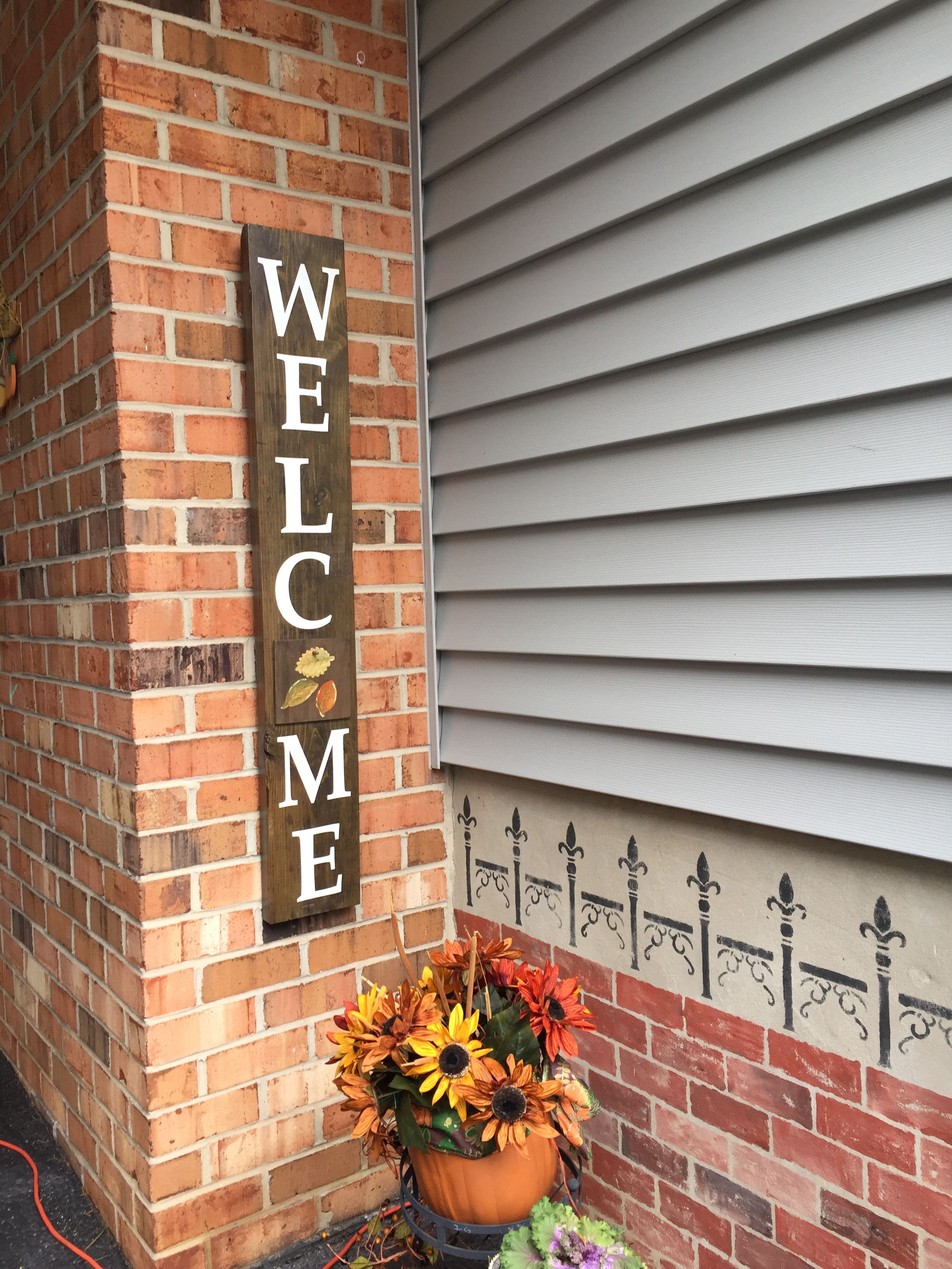 Welcome sign | Outdoor welcome sign, Welcome sign, Signs