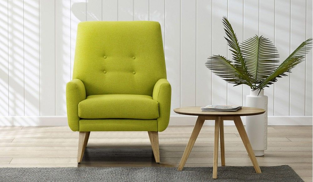 Delicieux Fresco Of Cool Lime Green Accent Chair