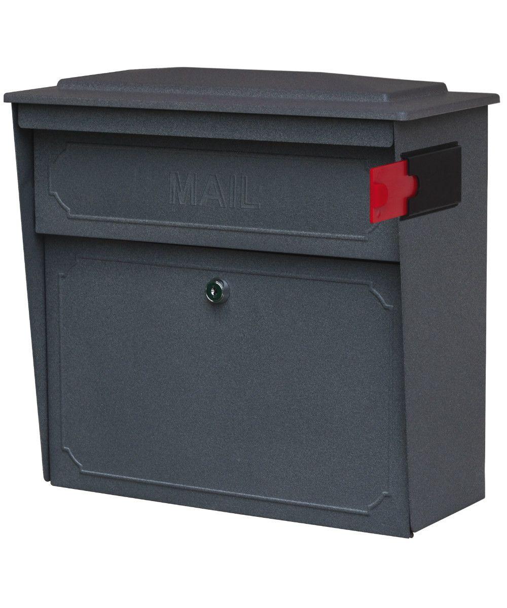 Mail Boss Townhouse Locking Mailbox Mail Boss Wall Mount Mailbox Mounted Mailbox