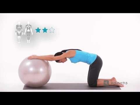 Exercice 5 Abdominaux Et Fessiers Gym Ball Domyos Youtube Gym Ball Gym Ball Exercises