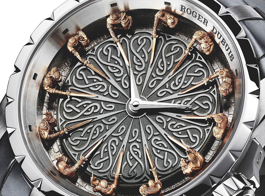 Excalibur Knights Of The Round Table El Reloj De Roger Dubuis