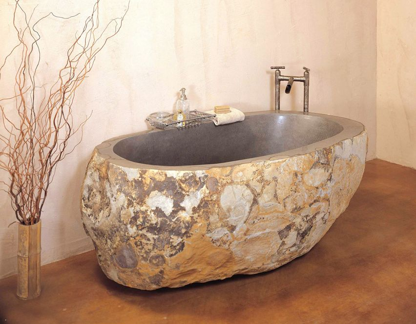 The Best Bathtub Materials Granite: Long Valued For Its Strength And  Longevity, Granite Is