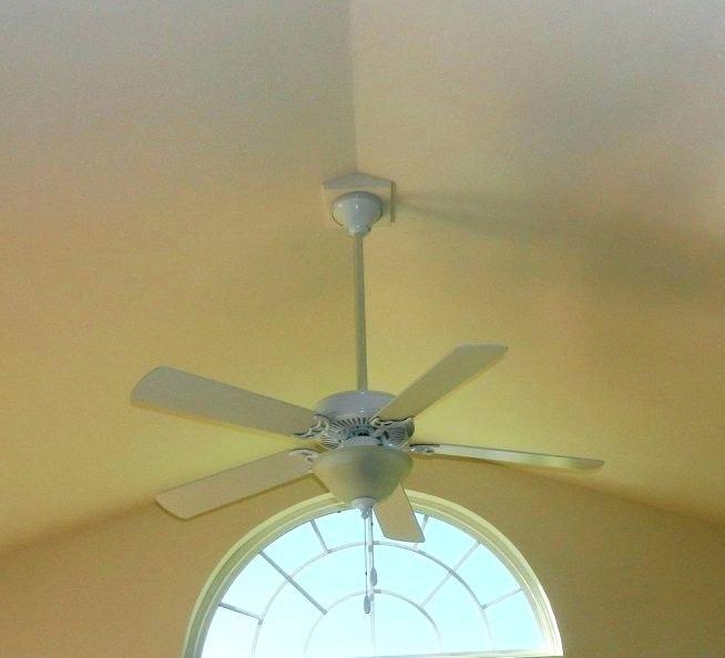 Vaulted Ceiling Fan Mount Bracket Best