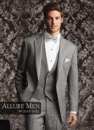 Heather Grey \'Allure\' Tuxedo THIS IS WHAT JON WANTS! | Closet ...