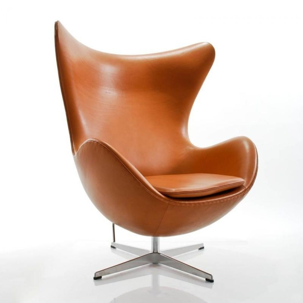 Egg Lounge Sessel Egg Chair Das Ei Loungesessel Leder Lounge Chairs Pinterest