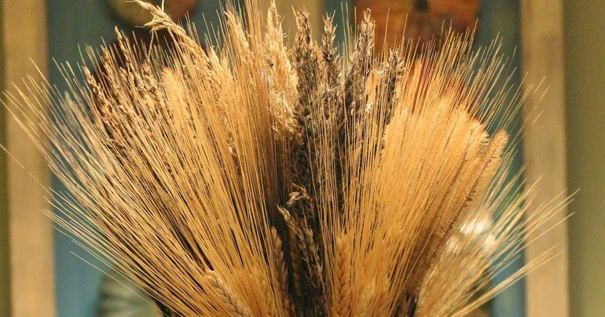 make a wheat sheaf