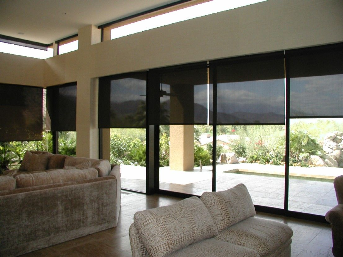 Roller Shades Are One Of The Hottest Decorating Trends On