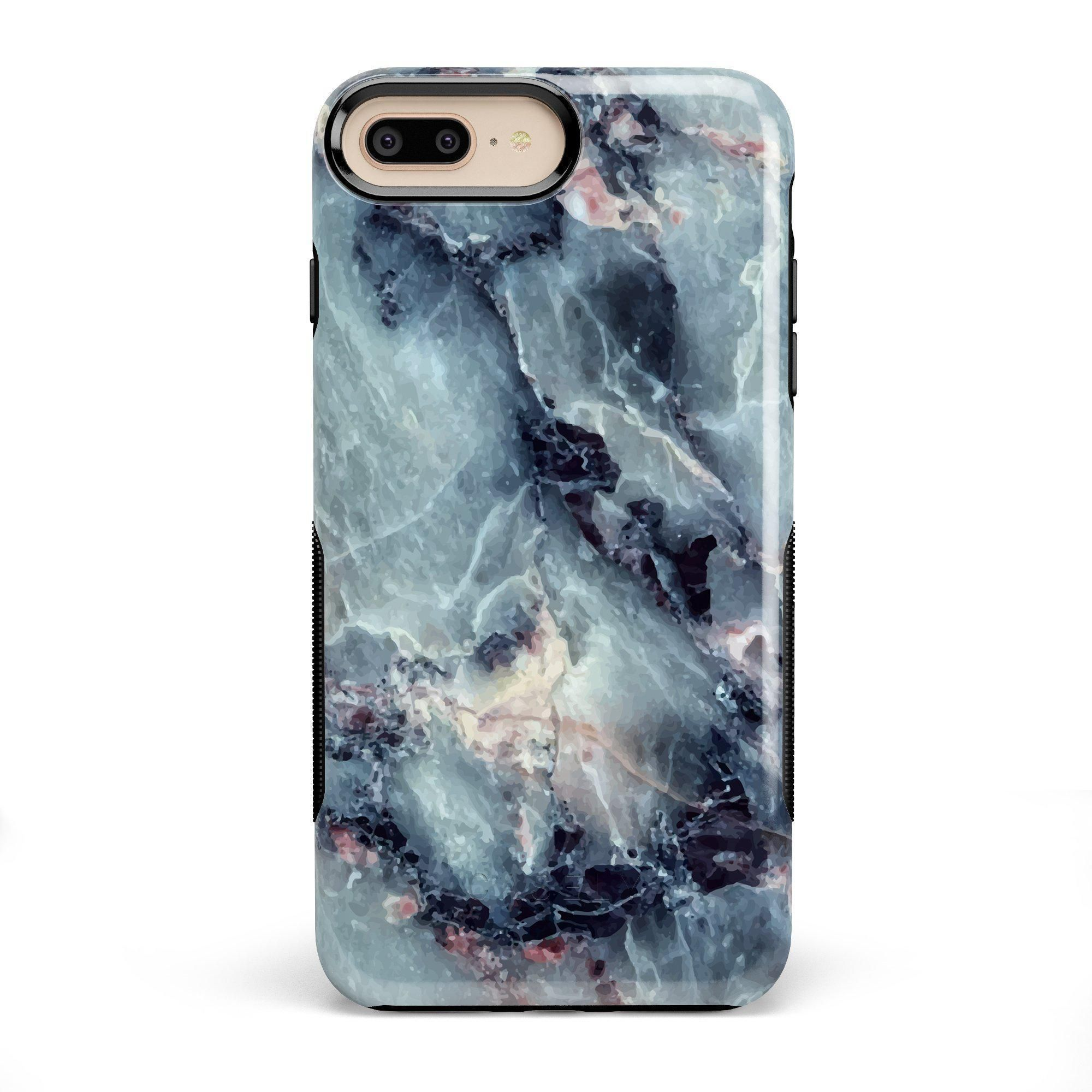 Classic Blue Marble Case In 2020 Phone Cases Marble Marble Iphone Case Marble Iphone