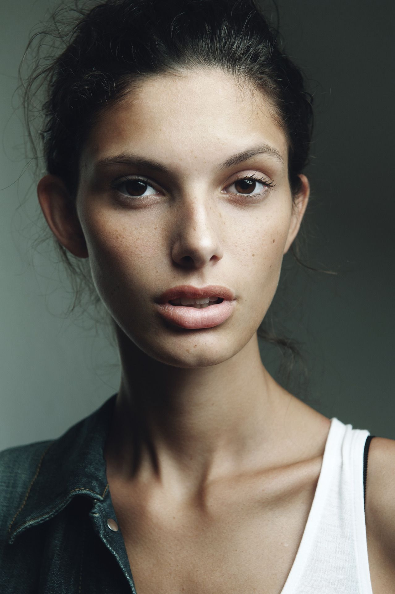 Giulia Wilhelmina Paris model, New faces models, Face