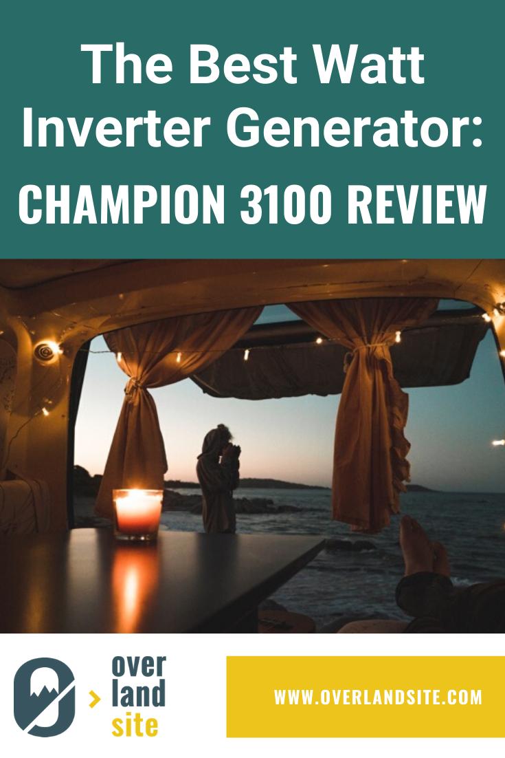 Champion 3100 Watt Inverter Generator Review (With images