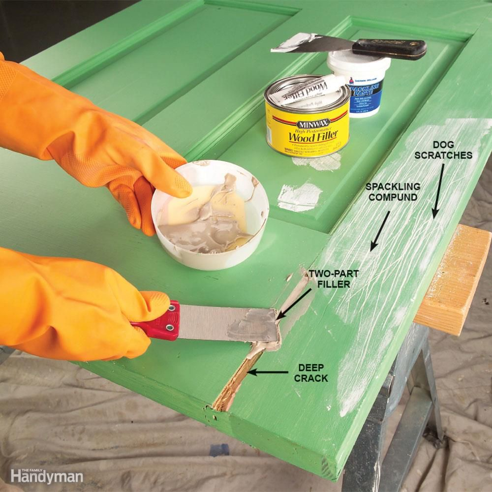 Great Tips for Painting Doors | House | Pinterest