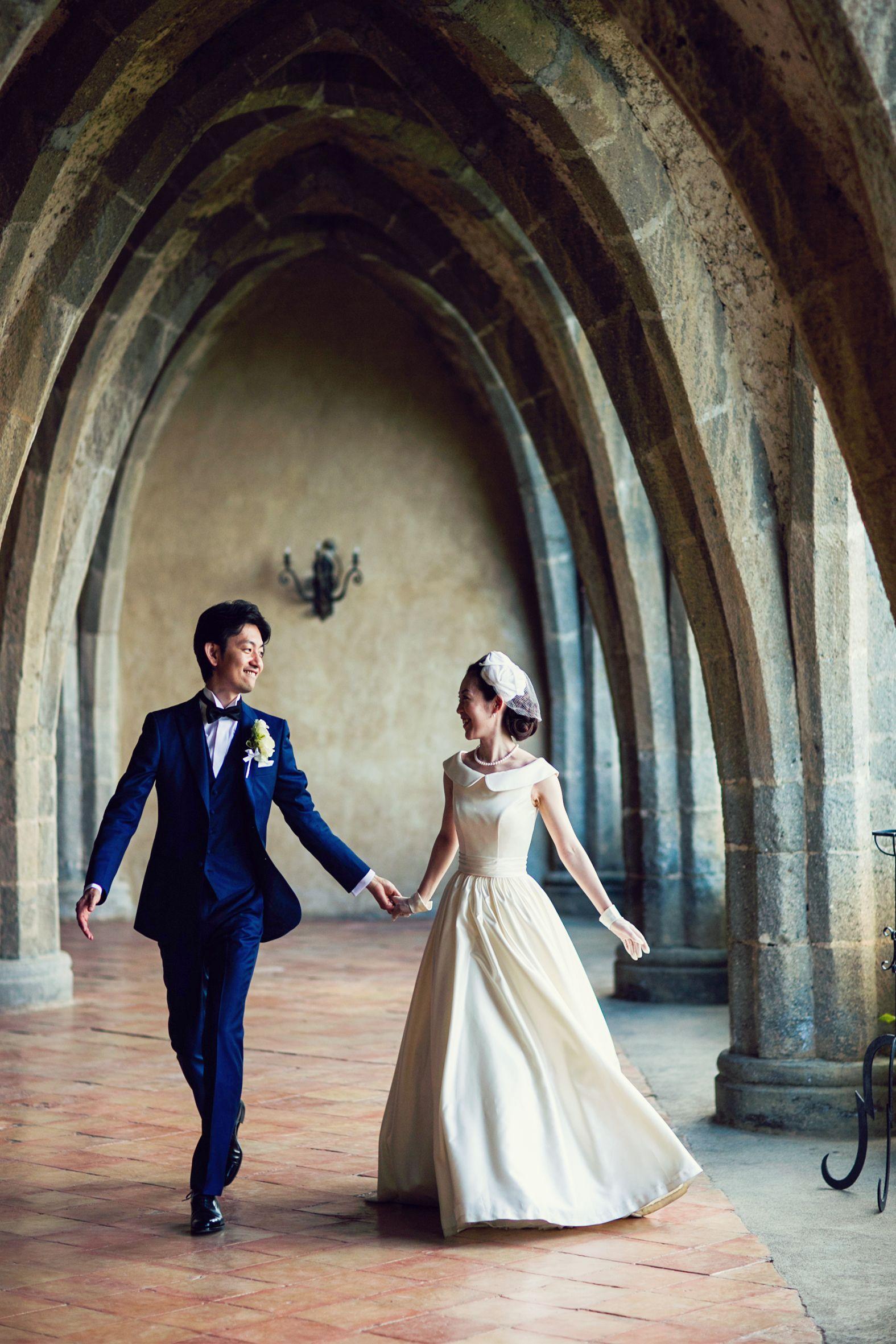 d78a65fd7fe6f イタリア・アマルフィにてご結婚式をされた本当に素敵な花嫁様 gnomeの ...