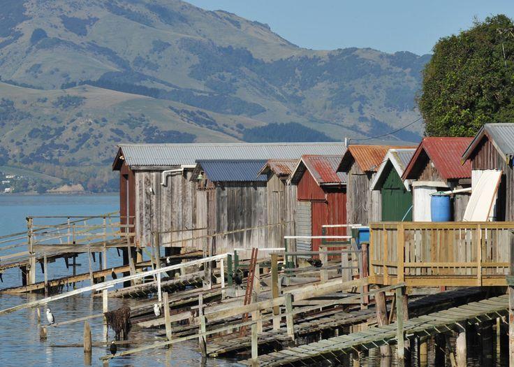 Akaroa Niet Ver Van Christchurch Heb Je Dagen Of Tijd Over Dan Is