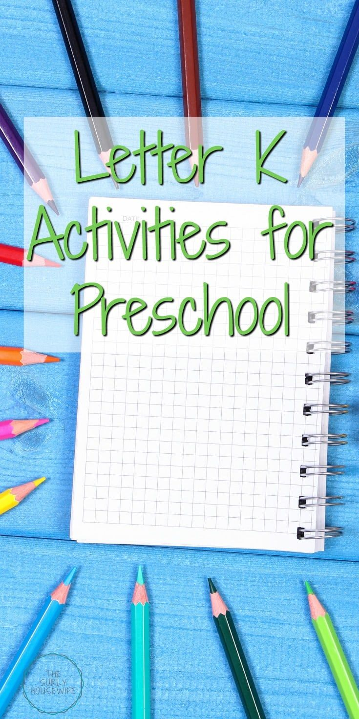 Letter K Activities For Preschool  Activities Homeschool And