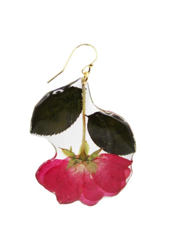 Dolly Sac véritable séché rose rouge pétales Confettis Mariage Demoiselles D/'honneur Lutins