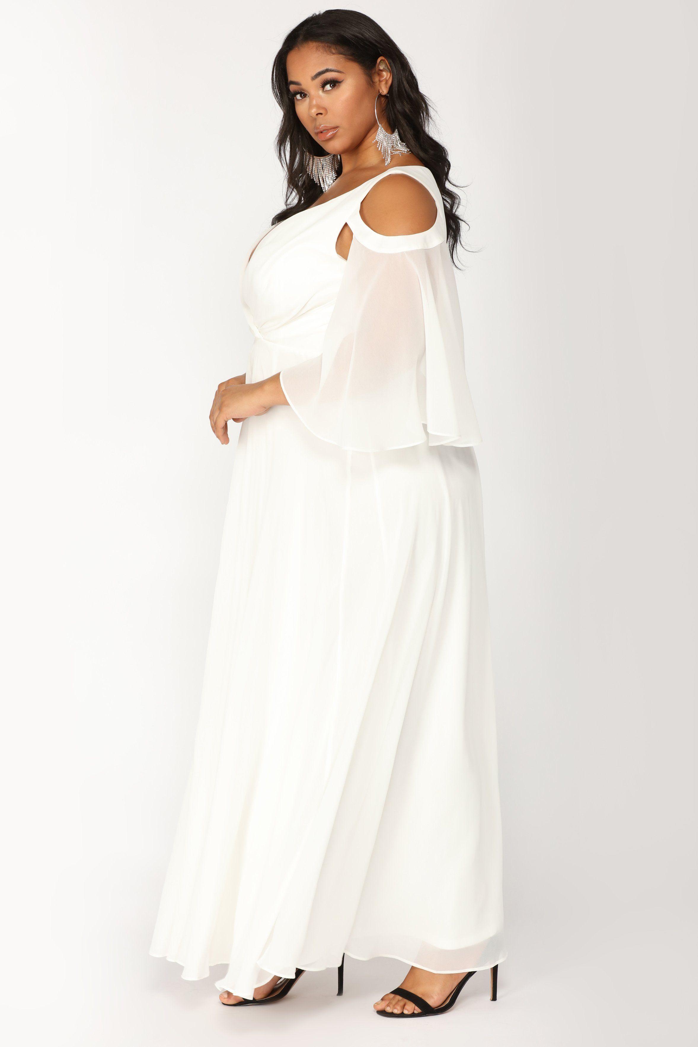 Debutante Ball Chiffon Dress White en 2020 Mariage