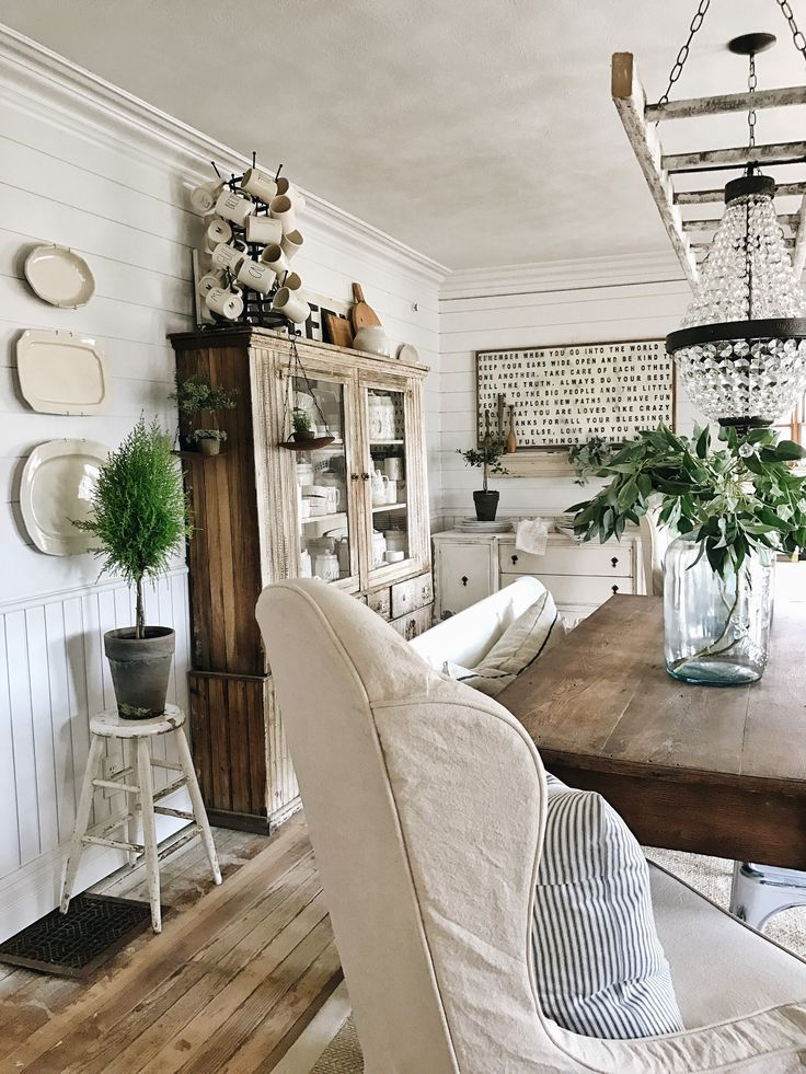 70 Adorable Farmhouse Dining Room Ideas Simply And Timeless