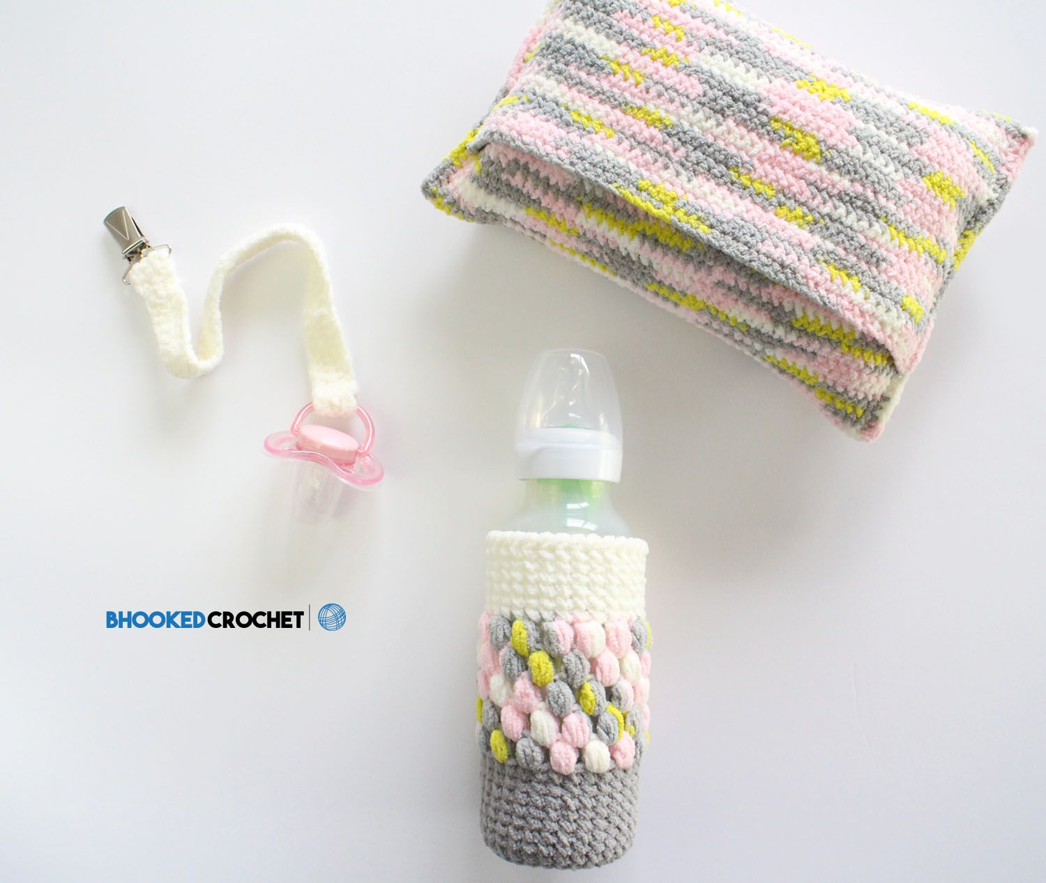 Easy Crochet Baby Shower Gift Set | Pinterest